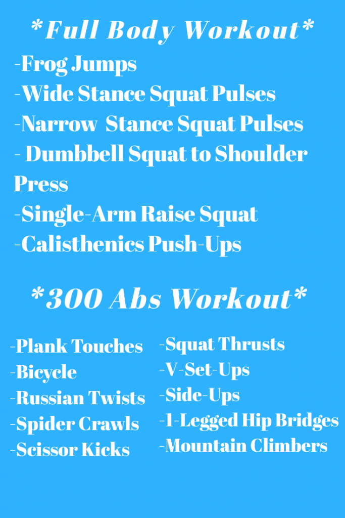Full Body Workout and Abs Workout
