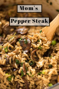 Mom's Pepper Steak